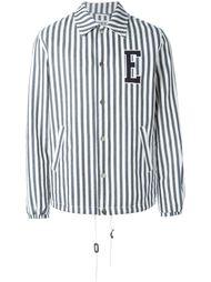 джинсовая куртка в полоску  Edwin