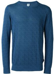 свитер с принтом  Armani Collezioni