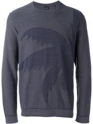 свитер с изображением пальмы  PS Paul Smith