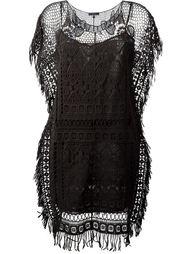 многослойное ажурное платье Twin-Set
