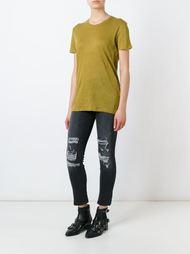 футболка с потертой отделкой Iro