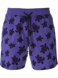 плавательные шорты с принтом черепах Vilebrequin