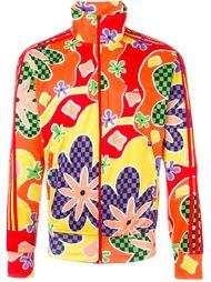 толстовка с цветочным принтом Adidas X Jeremy Scott Jeremy Scott