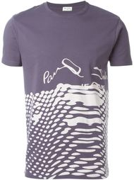 футболка с контрастным принтом Paul Smith Jeans