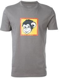 футболка с принтом обезьяны Paul Smith Jeans