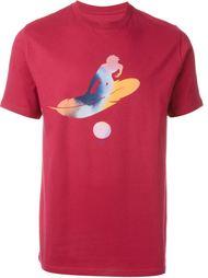 футболка с абстрактным принтом Paul Smith Red Ear