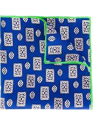 нагрудный платок с принтом медальонов Kiton