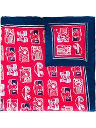 нагрудный платок с графическим принтом Kiton
