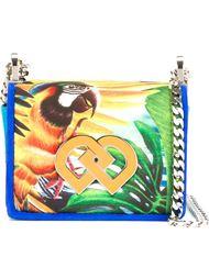 сумка с принтом попугая Dsquared2