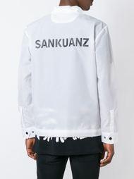рубашка с принтом-логотипом Sankuanz