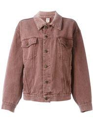 объемная джинсовая куртка Moschino Vintage