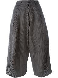укороченные брюки в полоску 'Mojave'  Henrik Vibskov