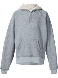 half zip sherpa hoodie Fear Of God