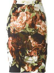 юбка с принтом  Philipp Plein