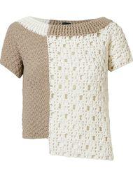 asymmetric knit blouse Fernanda Yamamoto