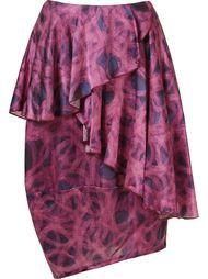 asymmetric printed skirt Fernanda Yamamoto
