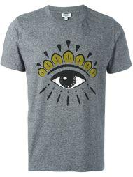 футболка с принтом глаза Kenzo