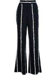 широкие полосатые брюки Derek Lam 10 Crosby