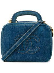 джинсовая сумка-косметичка Chanel Vintage