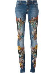 джинсы 'Blooming'  Philipp Plein