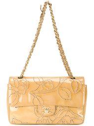 сумка на плечо с цветочным узором  Chanel Vintage