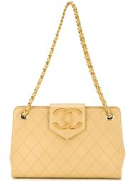 сумка на плечо 'Coco Plate' Chanel Vintage