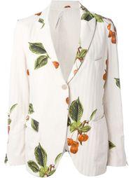 пиджак 'Baruffa' с растительным принтом Nostra Santissima