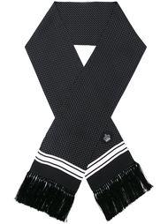 шарф с узором в горох Dolce & Gabbana
