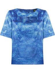 cut out detail blouse Fernanda Yamamoto