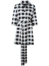 checked short sleeve coat Vivienne Westwood Anglomania