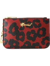 leopard print zipped purse Muveil