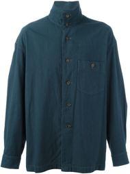 рубашка с воротником-стойкой  Issey Miyake Vintage
