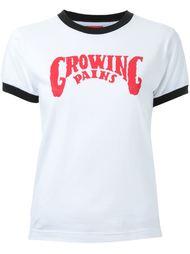 футболка с логотипом Growing Pains