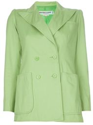 пиджак пастельного цвета Yves Saint Laurent Vintage