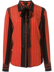 striped pussy bow shirt  Marc Jacobs