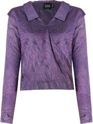 v-neck draped shirt Fernanda Yamamoto