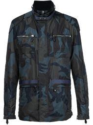 куртка с камуфляжным принтом Philipp Plein