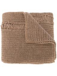вязаный шарф с рваным эффектом J.W. Anderson