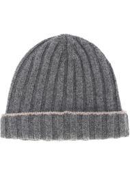 шапка-бини в рубчик Brunello Cucinelli