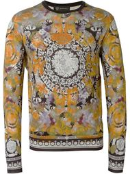 свитер с принтом  Versace