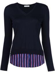 свитер комбинированного кроя 'Colbery'  Altuzarra
