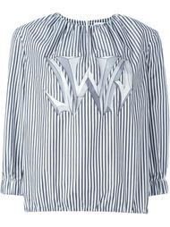 блузка в полоску  J.W. Anderson