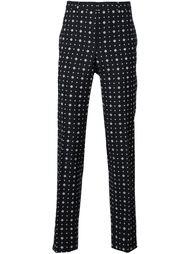 классические брюки с мелким узором Givenchy