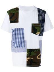 футболка в стиле пэчворк  Sophnet.