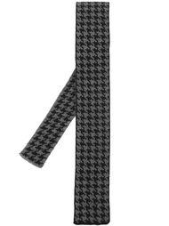 трикотажный галстук в ломаную клетку Eleventy