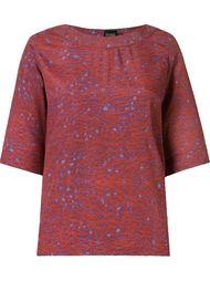 round neck printed blouse Fernanda Yamamoto