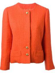 фактурный пиджак с юбкой Céline Vintage