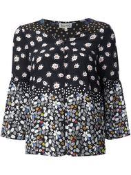 блузка c V-образным вырезом   Suno