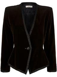 пиджак без ворота Yves Saint Laurent Vintage