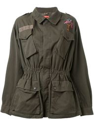 embroidered military jacket Growing Pains